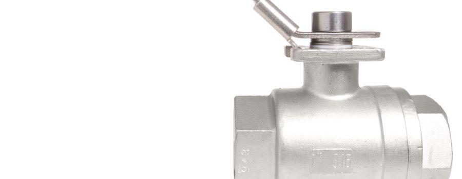 2 piece ball valves