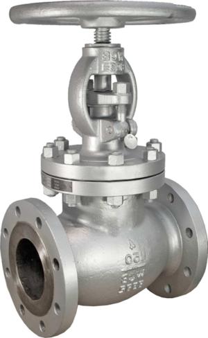 globe valve SS flanged