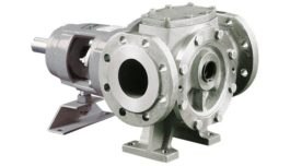 stainless-silver high flow gear
