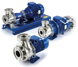flanged centrifugal pumps
