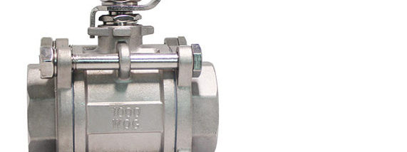 Manual 3PCS Ball Valve without mounting pad-3