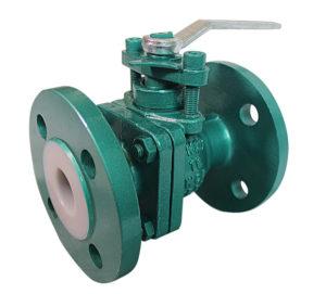 anti-corrosion manual flange ball valve-1