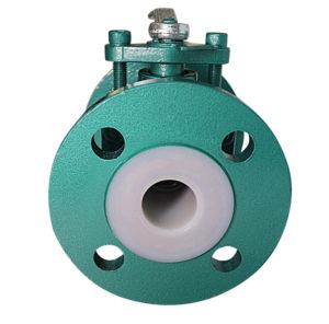 anti-corrosion manual flange ball valve-2