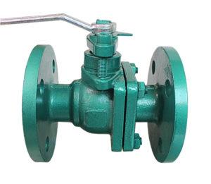 anti-corrosion manual flange ball valve