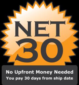 NET 30 Terms